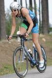 wurtele de triathlete de bruyère Images libres de droits
