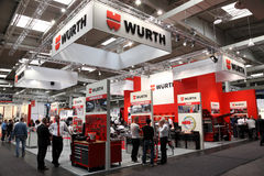 WURTH Standplatz am IAA Stockfoto