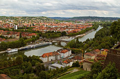 Wurzborg. Deutschland Lizenzfreies Stockfoto