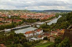 Wurzborg. Tyskland Royaltyfri Foto