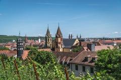 Wurzburg Royalty-vrije Stock Foto