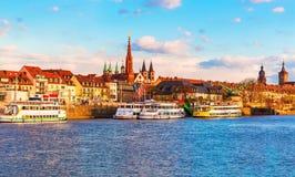 Wurzburg, Bavaria, Niemcy Zdjęcie Royalty Free