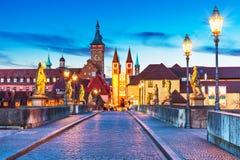 Wurzburg Bayern, Tyskland Arkivbilder