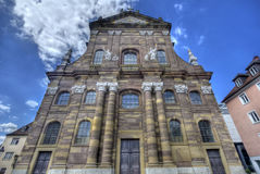 Wurzburg Church Stock Photos