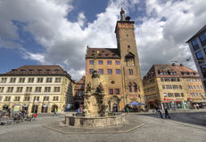 Wurzburg City Hall, Germany Royalty Free Stock Image