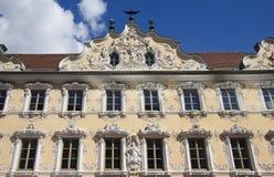 Wurzburg Falkenhaus, Germany Royalty Free Stock Images