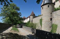 Wurzburg - Festung Marienberg - fortaleza en Wurzburg en Baviera Fotografía de archivo libre de regalías