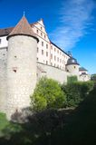 Wurzburg Fort walls Royalty Free Stock Images