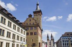 Wurzburg, Germania Fotografie Stock Libere da Diritti