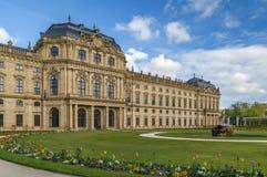 Wurzburg Residence, Germany. Wurzburg Residence is baroque palace in Wurzburg, Germany Royalty Free Stock Photography