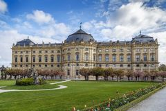 Wurzburg Residence, Germany Royalty Free Stock Photos