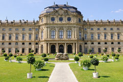 Wurzburg Residenz Royalty Free Stock Photos