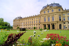 Wurzburg Residenz Stock Photo