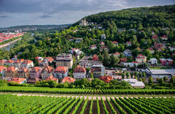 Wurzburg town in Germany Stock Images