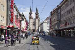 Wurzburger Dom, Deutschland Lizenzfreies Stockfoto