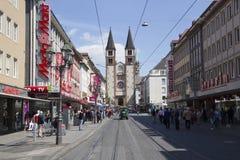 Wurzburger Dom, Deutschland Lizenzfreies Stockbild