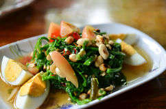 Wurzels salad. Thailand spicy mixed Wurzels salad Stock Image