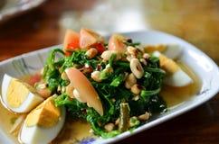Wurzels salad. Thailand spicy mixed Wurzels salad stock image