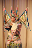 Wusheng-Beijing Opera: Chu Han contention Royalty Free Stock Images