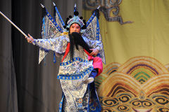 Wusheng-Beijing Opera: Chu Han contention Royalty Free Stock Photo