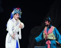 Wusheng dans l'opéra de Pékin Photos libres de droits