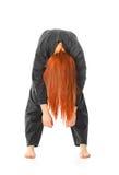 wushu γυναικών τόξων Στοκ φωτογραφία με δικαίωμα ελεύθερης χρήσης