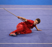 Wushu Royalty Free Stock Photo