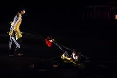 Wushu Dance Stock Image