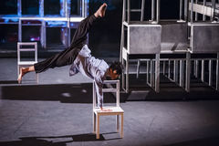 Wushu Dance Stock Photography