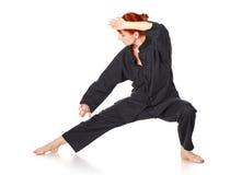 Wushu Woman Stock Images