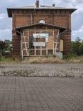 Wusterhausen-Bahnhofseite royalty free stock photo