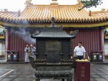 Wutai-Berg Stockbild
