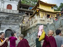 Wutai-Berg Lizenzfreies Stockfoto