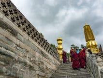 Wutai-Berg Lizenzfreie Stockfotografie