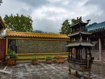 Wutai-Berg Stockfotos