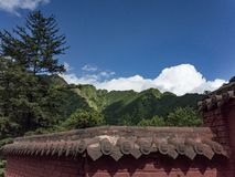 Wutai Mountain Royalty Free Stock Image