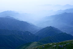 Wutai Mountain scenery Royalty Free Stock Images
