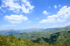 Wutai Mountain scenery Royalty Free Stock Photo