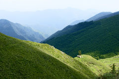 Wutai Mountain scenery Royalty Free Stock Photography
