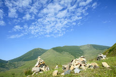 Wutai Mountain scenery Stock Photos