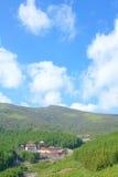 Wutai Mountain scenery Stock Photo