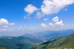 Wutai Mountain scenery royalty free stock image