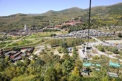 Wutai Mountain scenery Royalty Free Stock Photography