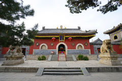 Wutai Mountain in Shanxi Luohou Temple TianWangDian Royalty Free Stock Photography