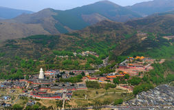 Wutai Mountain in Shanxi scenery Royalty Free Stock Image
