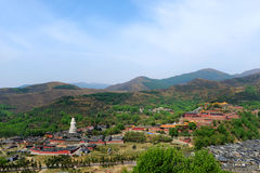 Wutai Mountain in Shanxi scenery Royalty Free Stock Photo