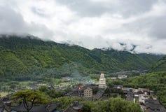 Wutai Mountain Stock Photo