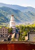 Wutaishan (góra Wutai) scena. Fotografia Royalty Free