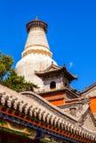 Wutaishan (góra Wutai) scena. Zdjęcia Royalty Free