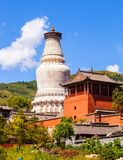 Wutaishan (góra Wutai) scena. Obraz Royalty Free